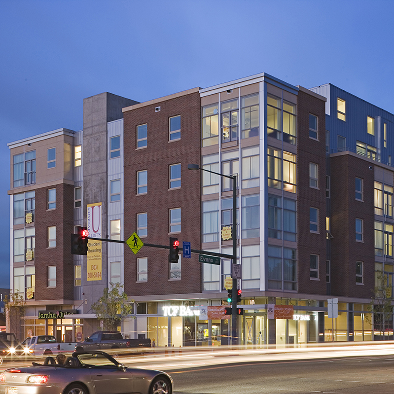 Urban Mixed Use Architecture