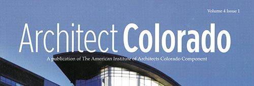 2008 Architect Colorado Magazine