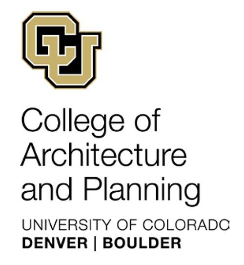 University of Colorado Denver College of Architecture & Planning Architecture Graduate Design Studio Awards 2012
