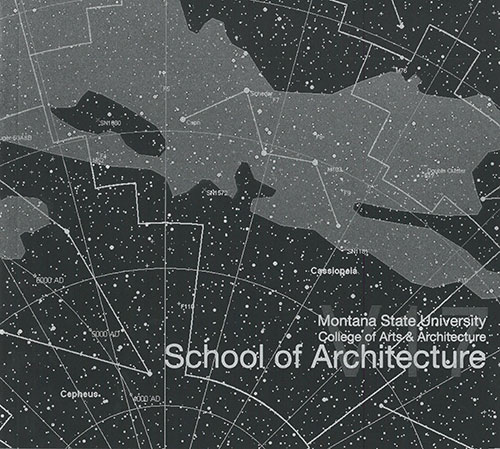 Montana State University School of Architecture ARCH 551 STUDIO 2017